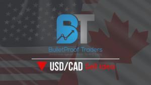 usd/cad sell idea